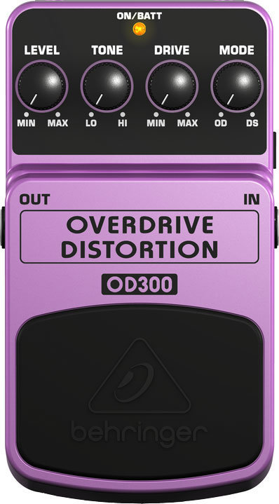 View larger image of Behringer 2-Mode Overdrive/Distortion Pedal