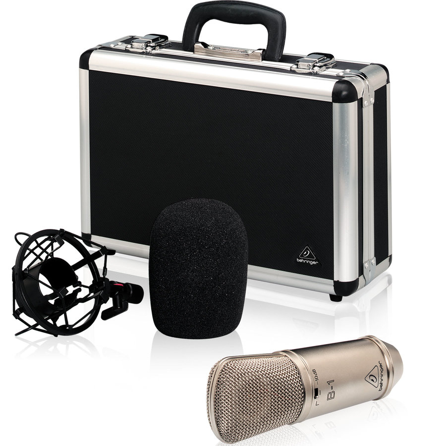 View larger image of Behringer B-1 Single Diaphragm Condenser Microphone
