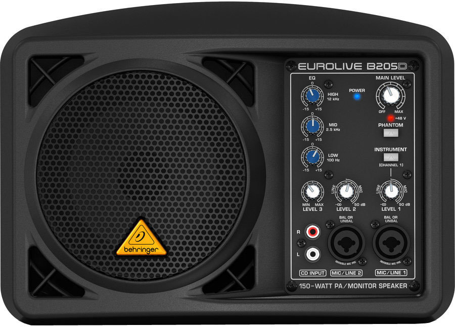 View larger image of Behringer EuroLive B205D Ultra-Compact 150-Watt PA/Monitor Speaker System