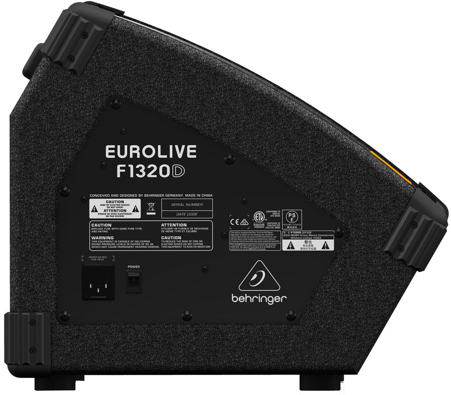 View larger image of Behringer EuroLive F1320D Active 300-Watt 2-Way Monitor Speaker System