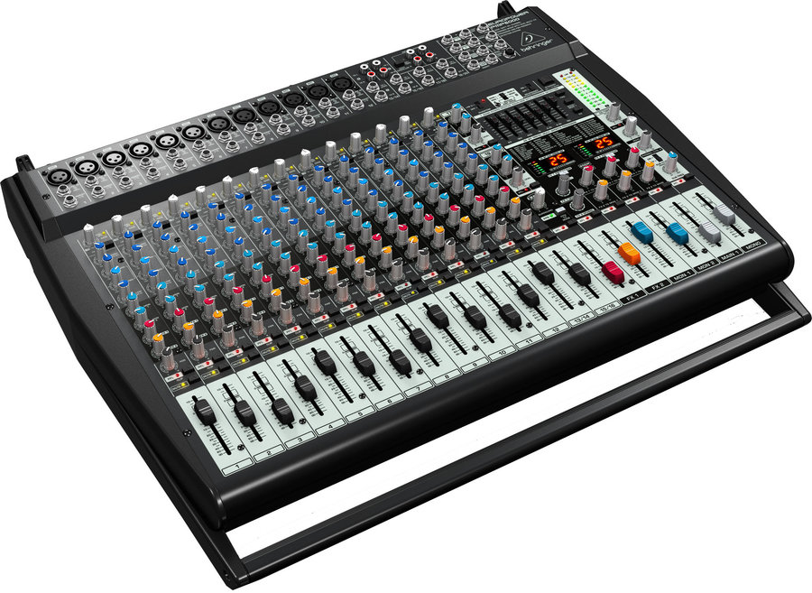 View larger image of Behringer PMP56000 Europower 20-Channel Powered Mixer