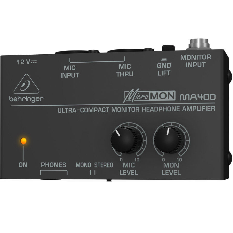 View larger image of Behringer MicroMON MA400 Headphone Amp