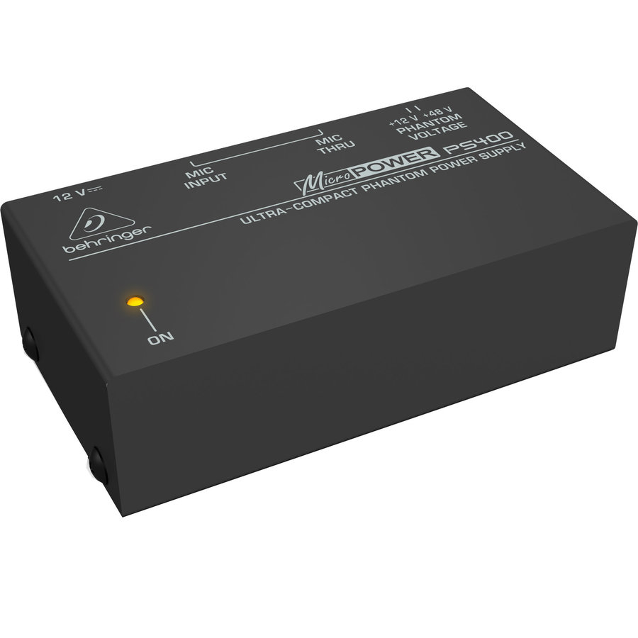 View larger image of Behringer MicroPower PS400 Ultra-Compact Phantom Power Supply