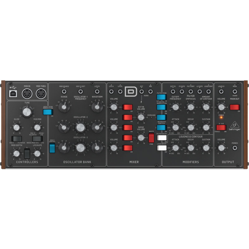 View larger image of Behringer Model D Analog Synthesizer