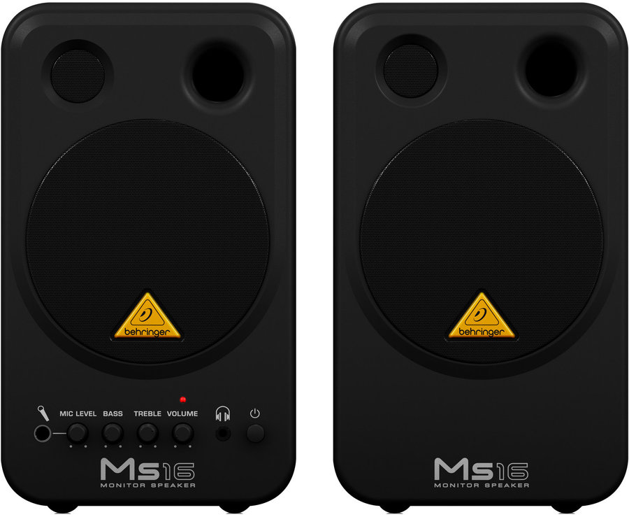 View larger image of Behringer MS16 Active 16-Watt Personal Monitor System