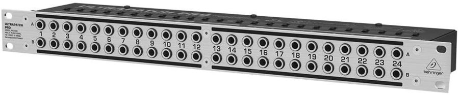 View larger image of Behringer Multi-Functional 48-Point 3-Mode Balanced Patchbay