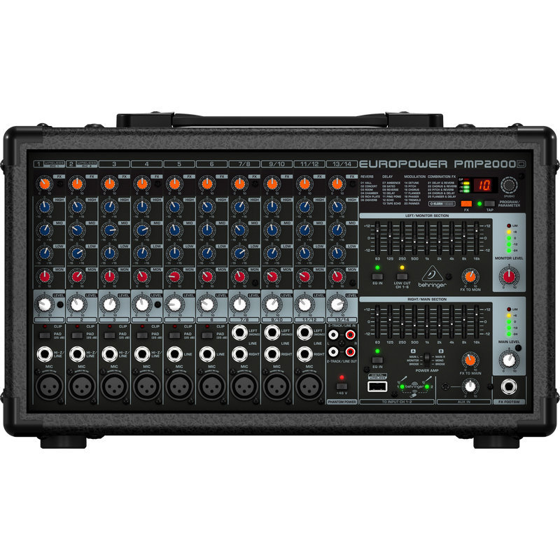 View larger image of Behringer PMP2000D 14-Channel Powered Mixer