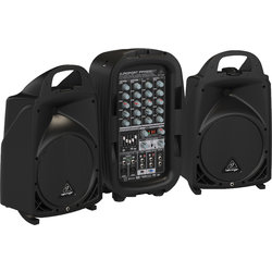 Behringer PPA500BT 6 Channel Portable PA System