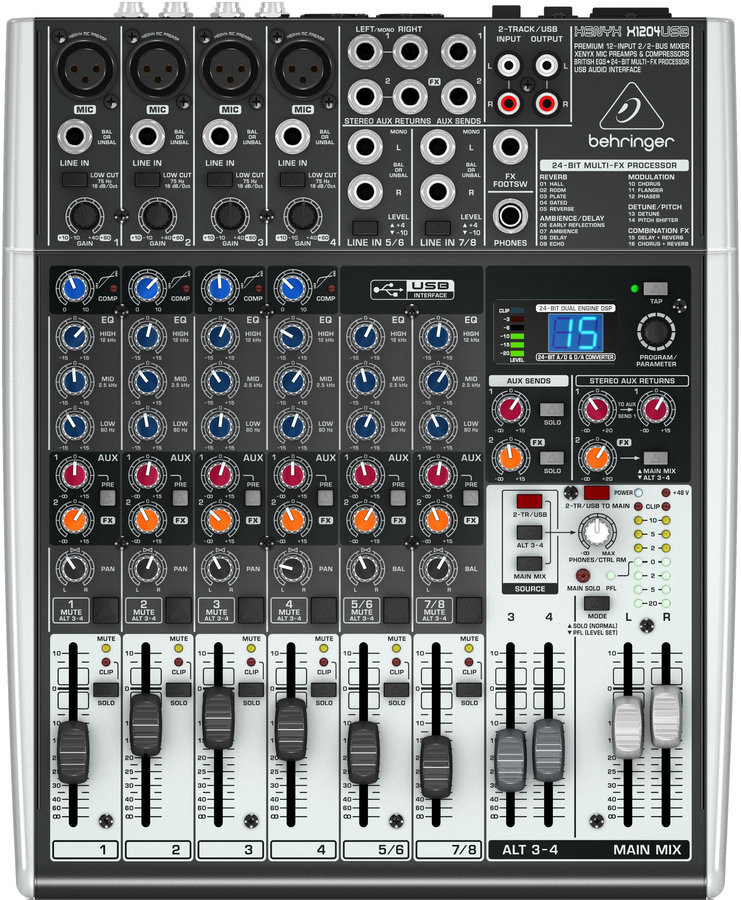 View larger image of Behringer Premium 12-Input 2/2-Bus Mixer