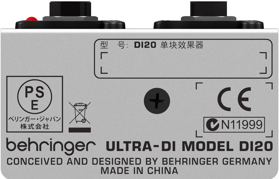 View larger image of Behringer Professional Active 2-Channel DI-Box/Splitter