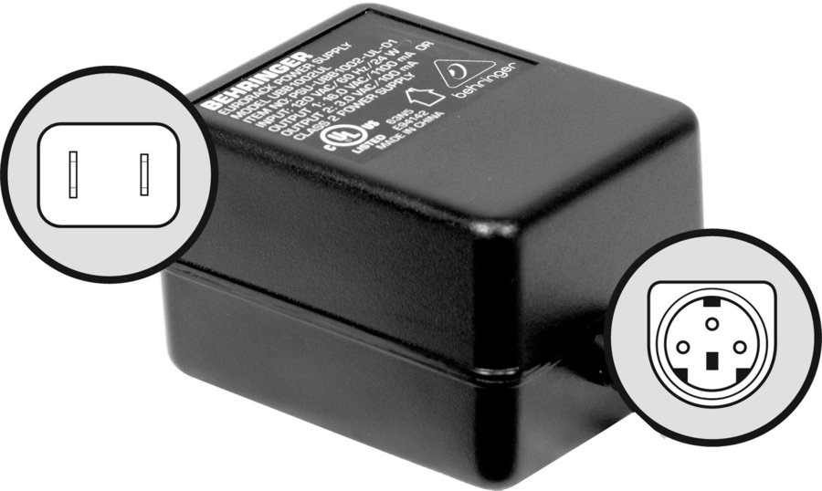 View larger image of Behringer PSU4-UL Replacement Power Adaptor