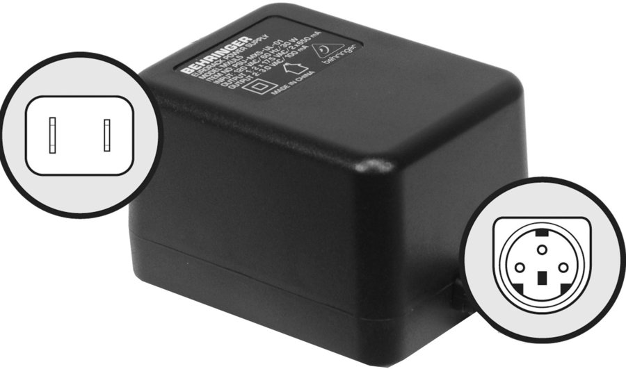 View larger image of Behringer PSU5-UL Replacement Power Adaptor