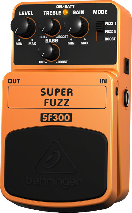 View larger image of Behringer SF300 Super Fuzz Pedal