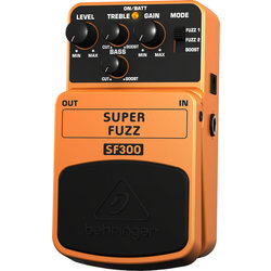 Behringer Super Fuzz 3-Mode Fuzz Distortion Pedal