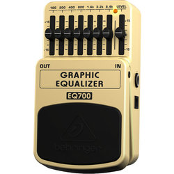 Behringer Ultimate 7-Band Graphic Equalizer Pedal