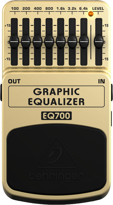 View larger image of Behringer Ultimate 7-Band Graphic Equalizer Pedal