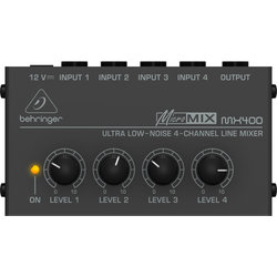 Behringer Ultra Low-Noise 4-Channel Line Mixer