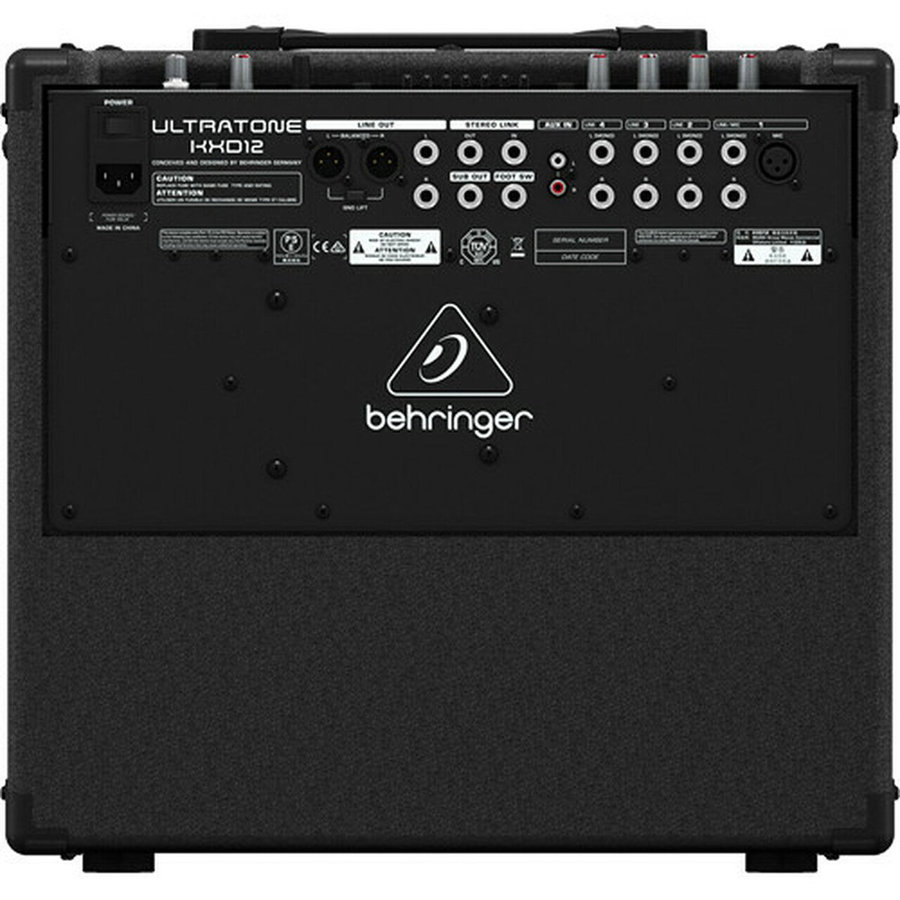 View larger image of Behringer Ultratone KXD12 4 Channel PA System/Keyboard Amp