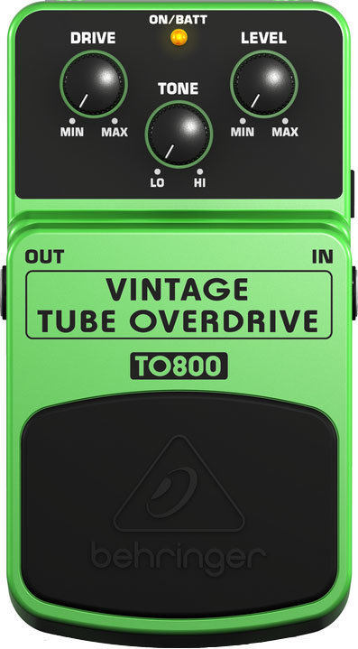 View larger image of Behringer TO800 Vintage Tube OverDrive Pedal