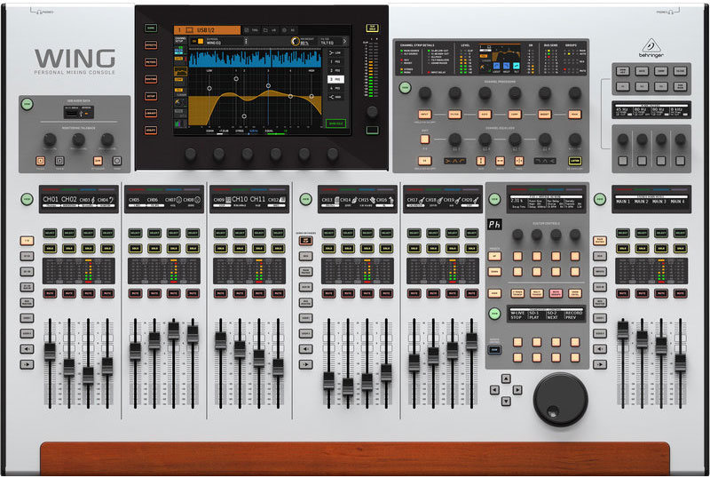 View larger image of Behringer Wing 48-Channel Digital Mixer