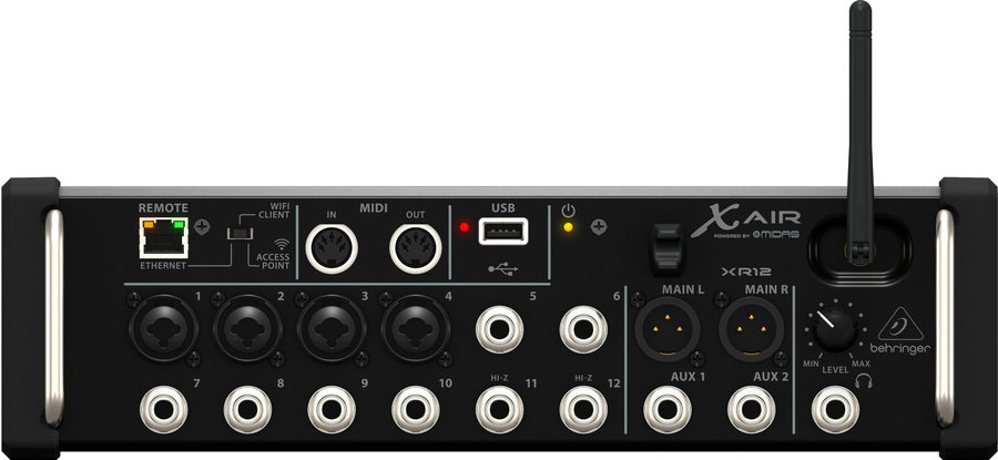 View larger image of Behringer X AIR XR12 12-input Digital Mixer for iPad/Android