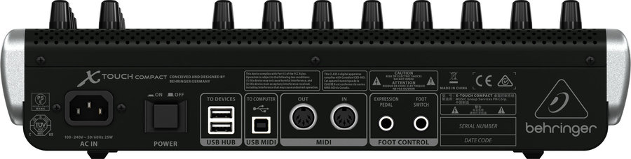 View larger image of Behringer X-TOUCH Compact Universal USB/MIDI Controller