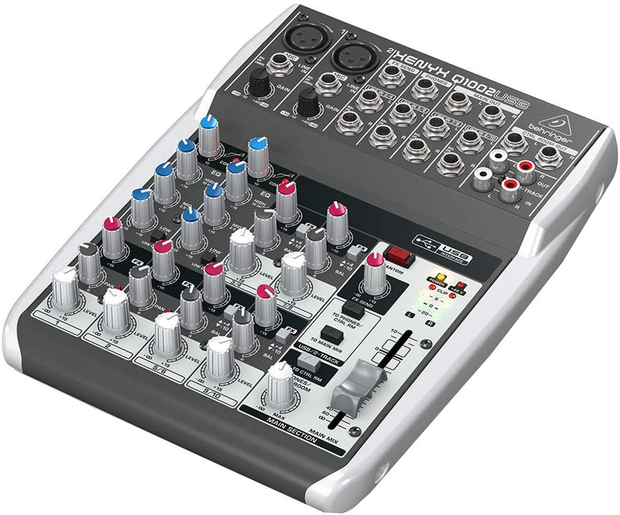 View larger image of Behringer Xenyx Q1002USB 10-Input 2-Bus Mixer