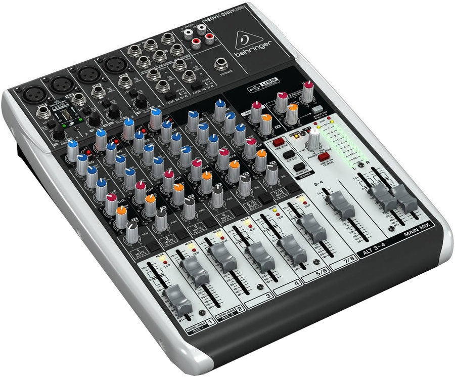 View larger image of Behringer Xenyx Q1204USB Mixer