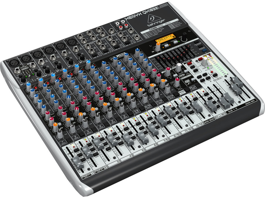 View larger image of Behringer Xenyx QX1832USB 18 Input 3/2 Bus Mixer