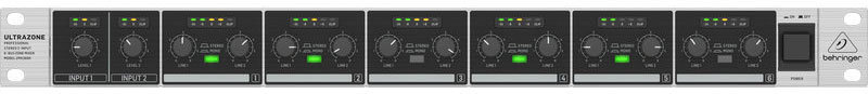 View larger image of Behringer ZMX2600 Ultrazone Professioal Stereo Zone Mixer