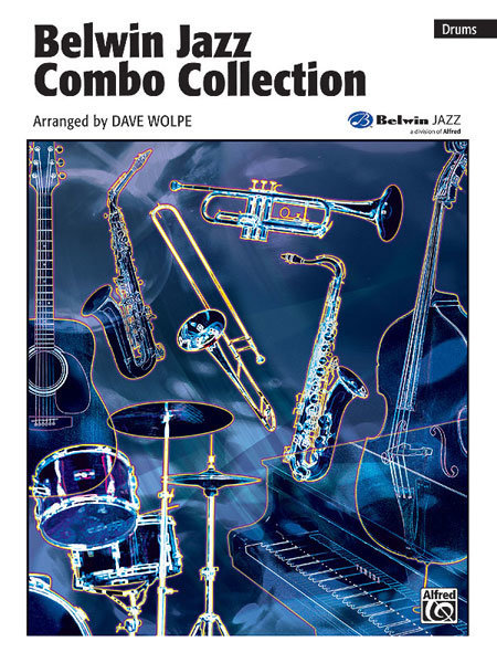View larger image of Belwin Jazz Combo Collection - Drums