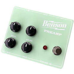 Benson Amp Limited Preamp Pedal - Seafoam Green