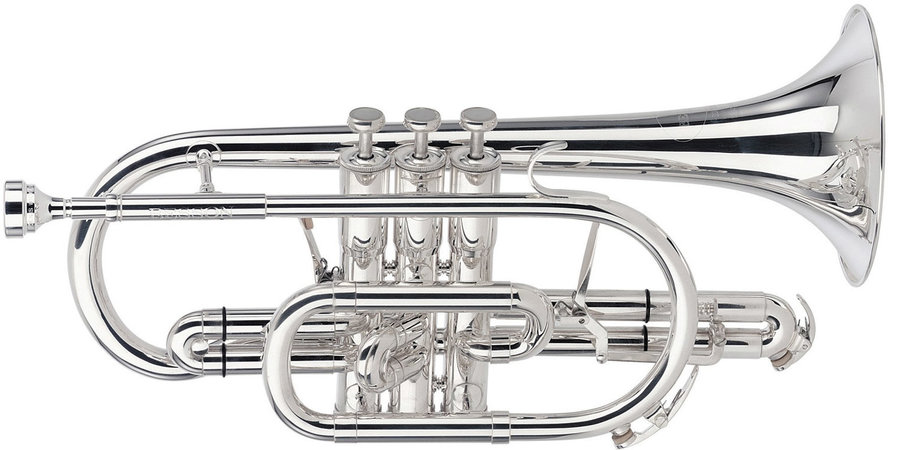 View larger image of Besson Sovereign Bb Cornet - Silver