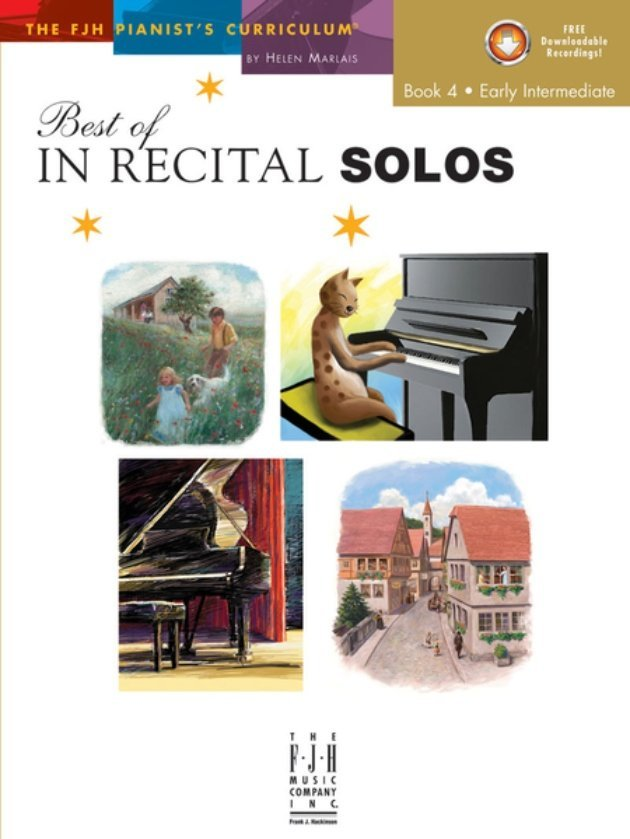View larger image of Best of In Recital Solos, Book 4