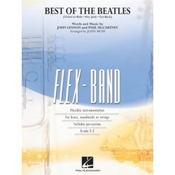 Best of The Beatles - Score & Parts, Grade 2-3