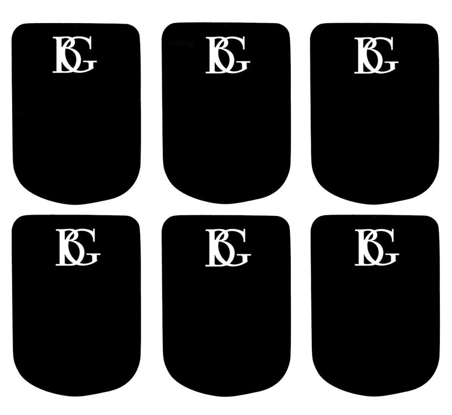 View larger image of BG France A10S Mouthpiece Cushions - Small 0.8mm, Black
