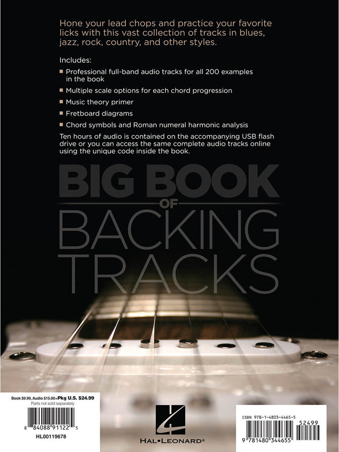 View larger image of Big Book of Backing Tracks w/Online Audio