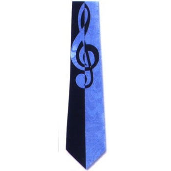 View larger image of Big Clef Music Tie