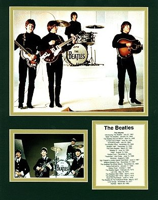 View larger image of Bio Art - The Beatles, Fab Four