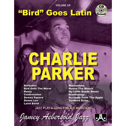 Bird Goes Lation - Charlie Parker - Book / CD - Volume 69