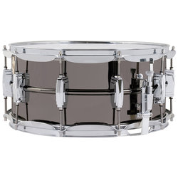 Black Beauty Snare Drum - Tube Lugs