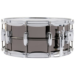 Black Beauty Snare Drum with Tube Lugs