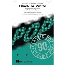 Black or White - ShowTrax CD