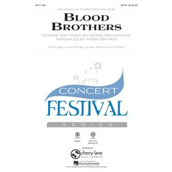 Blood Brothers, 3 Part Mixed Parts