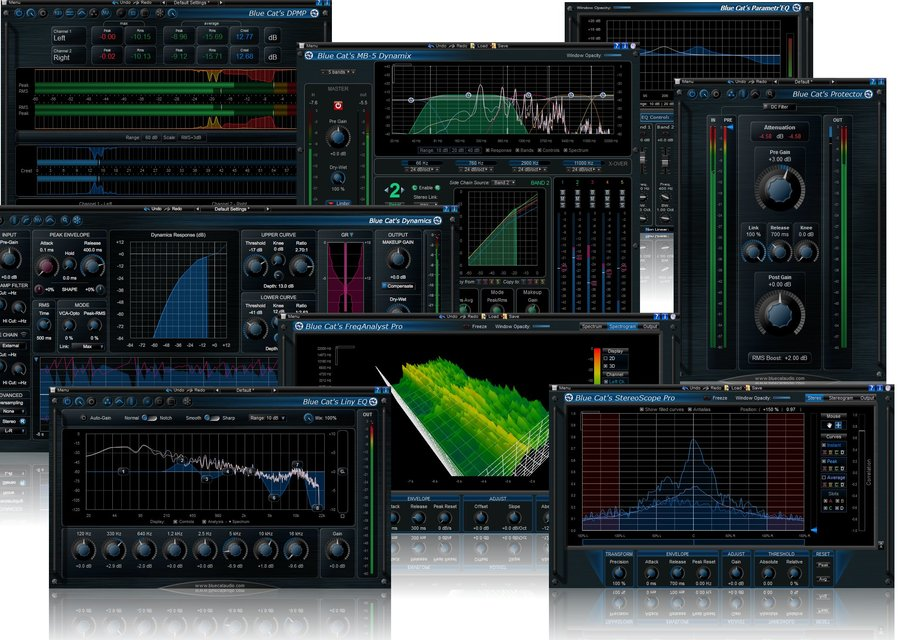 View larger image of Blue Cat Audio Master Pack - Digital Download