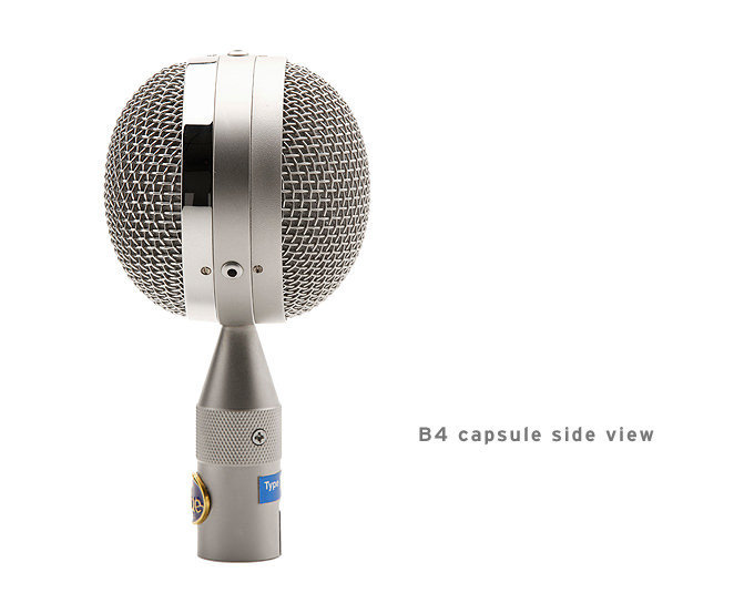 View larger image of Blue Microphone B4 Bottle Capsule - The Big Omni