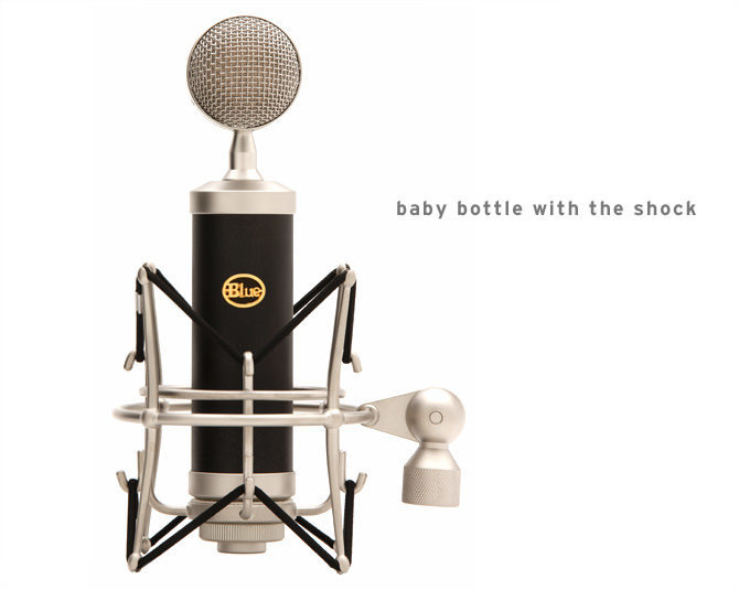 View larger image of Blue Microphones Baby Bottle Microphone