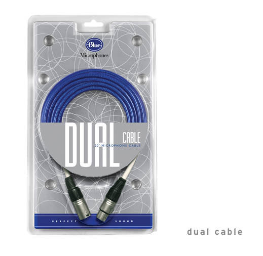View larger image of Blue Microphones Dual Cable - XLRM-XLRF