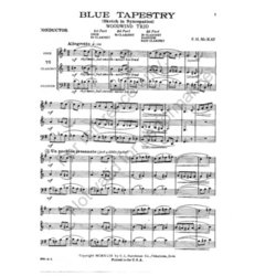 Blue Tapestry - (Woodwind Trio)