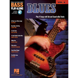 Blues - Bass Play-Along Volume 9 w/Online Audio